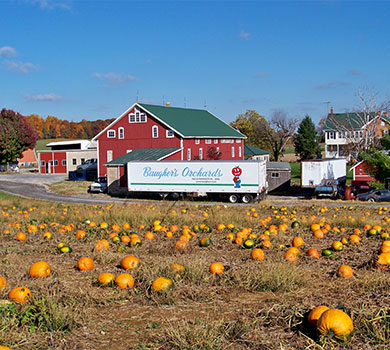 Baugher's Orchards and Farms in Westminster, Maryland