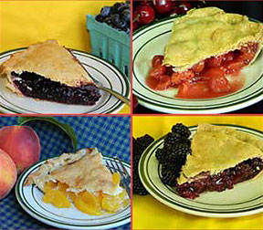Baugher's fruit pies are great. Plan to buy a pie to take home and enjoy Baugher's pie for dessert at tour restaurant.