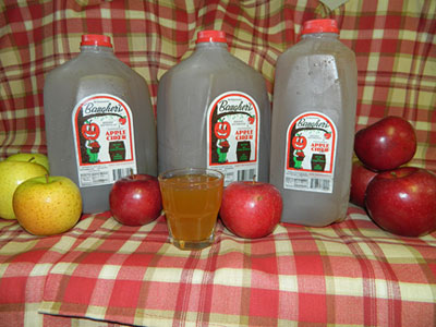 Baugher's Apple Cider is a sure sign of fall. Plan to buy it to enjoy.