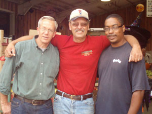 Lester, Dave and Jamal, the managers in our Wholesale department.
