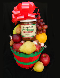 Half Peck Fruit Basket from Baugher's Fruit Market makes a great gift.
